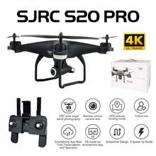 SJRC S20 PRO 5G WIFI FPV Double GPS Altitude Hold With 4K Wide Angle Camera and VR Mode Dynamic Follow RC Drone Quadcopter RTF(China)