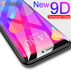 На Алиэкспресс купить чехол для смартфона 9d full cover protective glass for meizu m5 m6 m8 note m5s m6s m6t x8 v8 pro m8 lite tempered glass screen protection film case