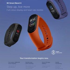 Image 2 - Original Xiaomi Mi Band 4 Global Version Smart Bracelet Wristband Fitness Miband Band 4 Heart Rate 3 Color Screen Smartband