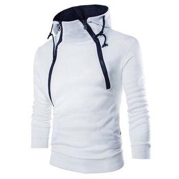 JAYCOSIN Hoodies Men's Autumn Long Sleeve Patchwork Hoodie Hooded Sweatshirt Top Tee Outwear Blouse Warm Sweatshirts Jacket Jun1