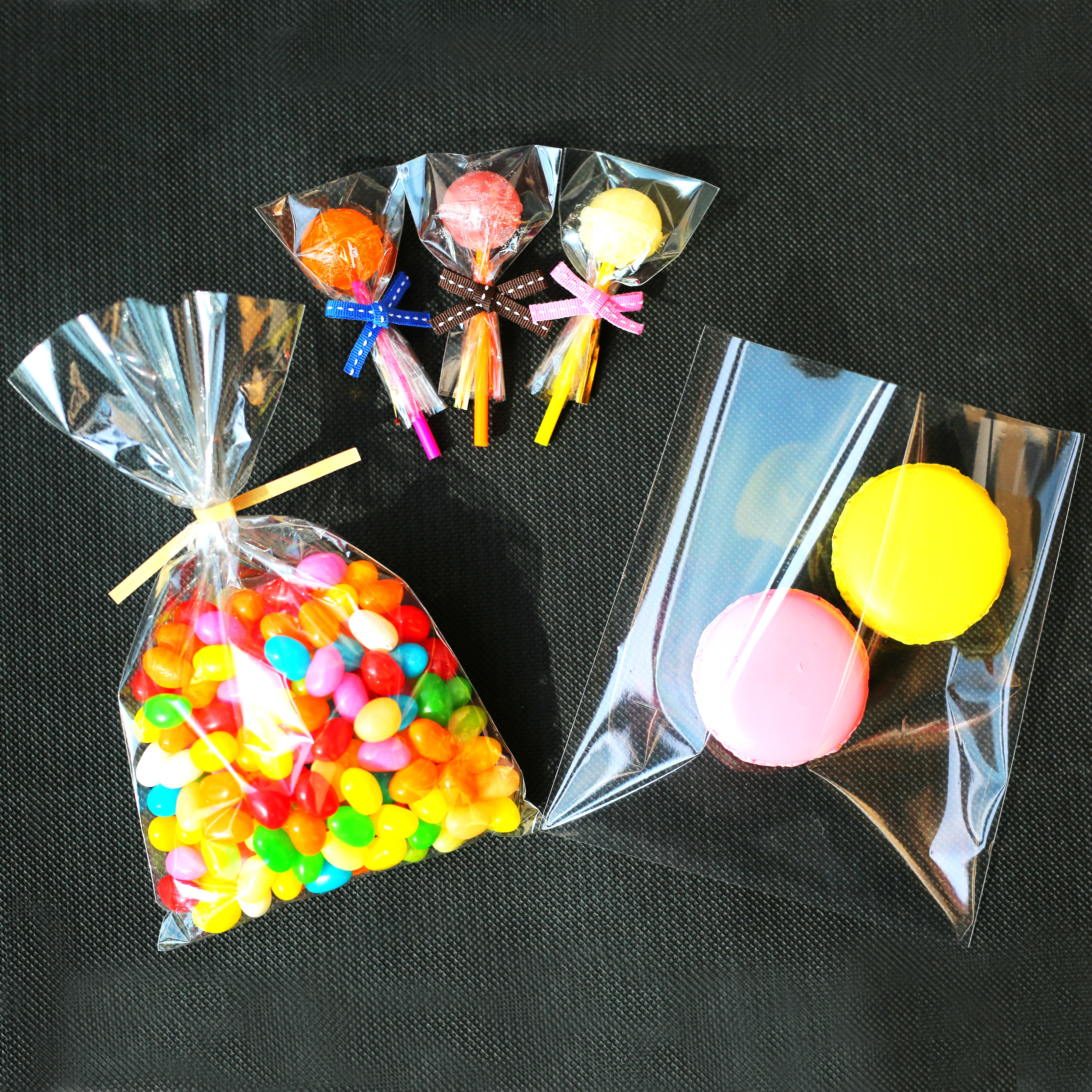 """4/"""" x 6/"""" Cello Gift bags and Sealing Sticker Labels Especially for You"""