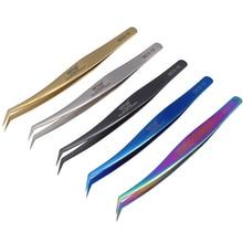 VETUS Tweezers Precision-Clamps-Tools Pincet Stainless-Steel Mcs-19-Series Pinzette