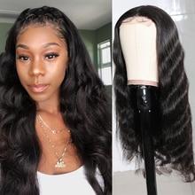 Бразильские волосы Longqi, волнистый парик 4x4, парик на сетке естественного цвета, парик на сетке, человеческие волосы, волнистые бразильские в...