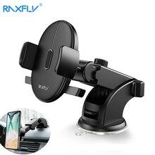 RAXFLY приборная панель лобовое стекло Автомобильный держатель для телефона iPhone 11 Pro Max 360 Вращение присоска навигация присоска держатель для телефона Подставка