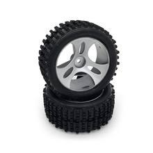 Резиновые гоночные шины на радиоуправлении 2 шт металлический