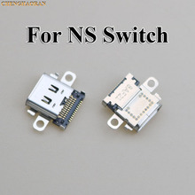 ChengHaoRan 2pcs 5pcs 10pcs Original New USB Type C Charging Socket Port Power Connector for Nintend NS Switch Console