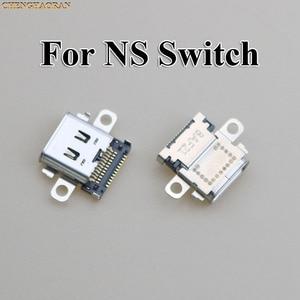 Image 1 - ChengHaoRan 2pcs 5pcs 10pcs Originele Nieuwe USB Type C Opladen Socket Port Power Connector voor Nintend NS Switch Console