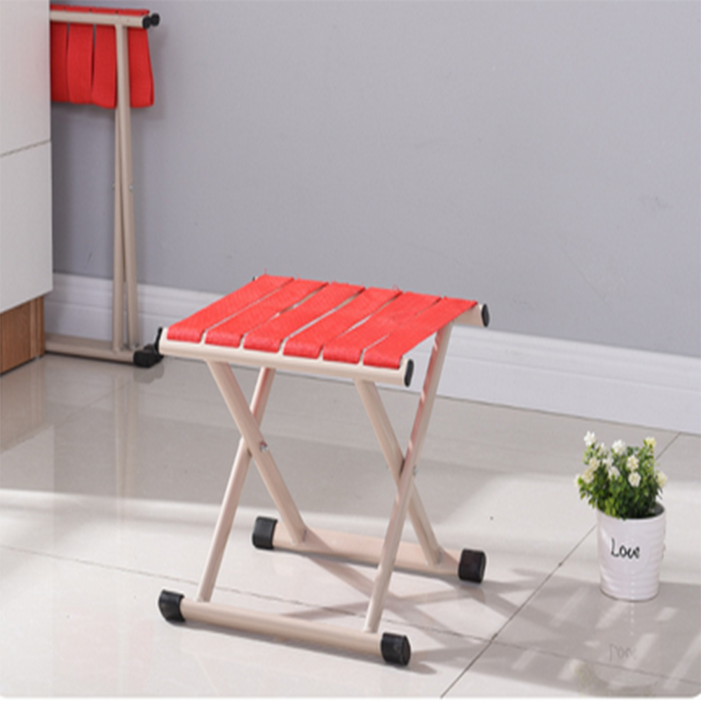 Portable Folding Chair Thickened Adult Fishing Outdoor Small Bench Low Stool Folding Stool