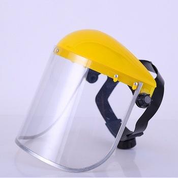 Anti-ślina Splash maska przeciwpyłowa przezroczyste pcv osłony ochronne osłony ekranu zapasowe osłony głowy kask ochrona dróg oddechowych tanie i dobre opinie AF200321-2 Safe Full face protective transparent masks