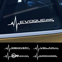 Autocollants réfléchissants pour vitres latérales de voiture, 2 pièces pour Land Rover Discovery 3 4 2 Evoque Velar superchargé autogiographie SVR accessoires