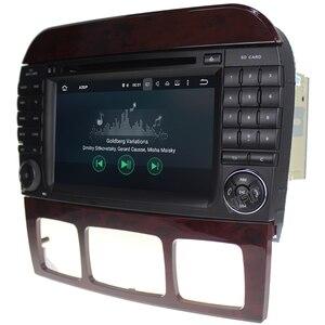 Image 5 - Android 10 7 นิ้วเครื่องเล่นวิทยุสำหรับรถยนต์ Mercedes Benz/S320/S350/S400/S500/w220/W215/C S Class 4G RAM 3G/4G WIFI วิทยุ GPS