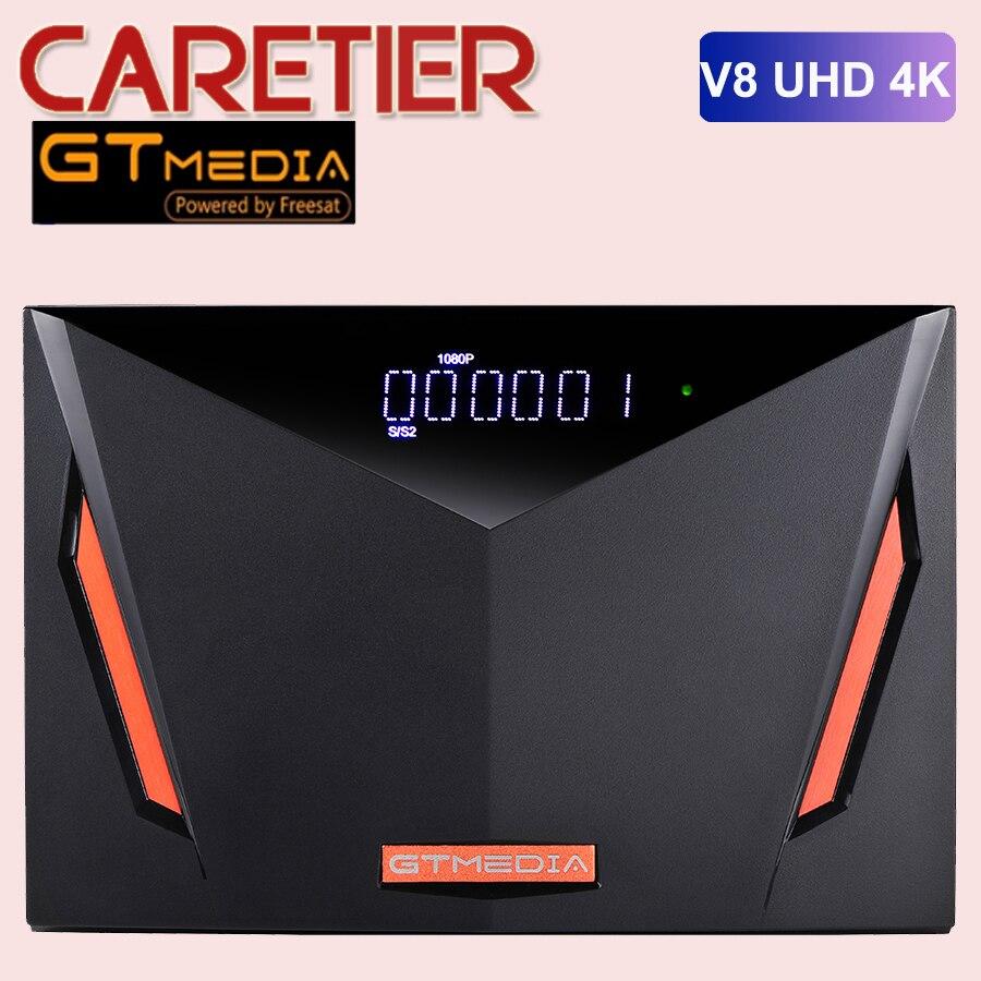 Новый спутниковый ресивер Gtmedia V8 UHD DVB S2 встроенный wifi Поддержка H.265 DDVB-S/S2/S2X + T/T2/Cable/ATSC-C/ISDBT better V8X V8 POR2