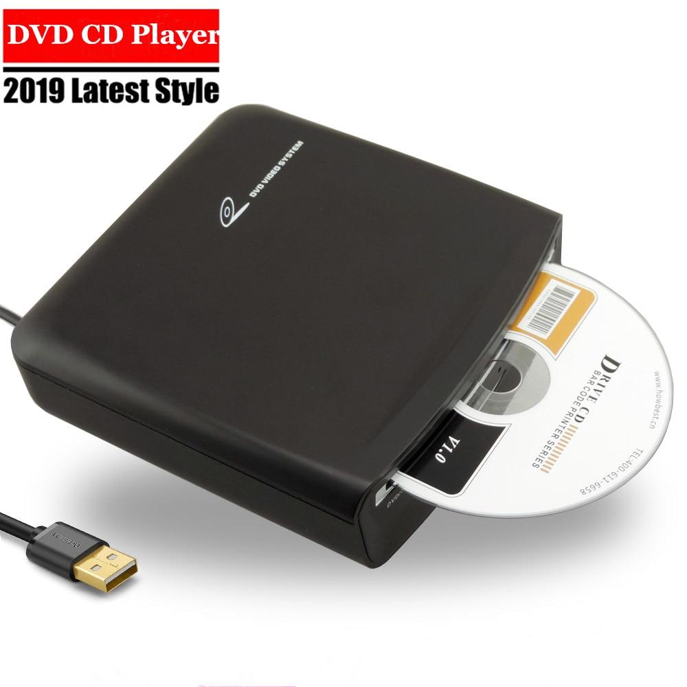 Esterno universale Auto CD MP3 HD Video Player Con Sistema di potere del USB di alimentazione compatibile per PC TV android dvd piatto box