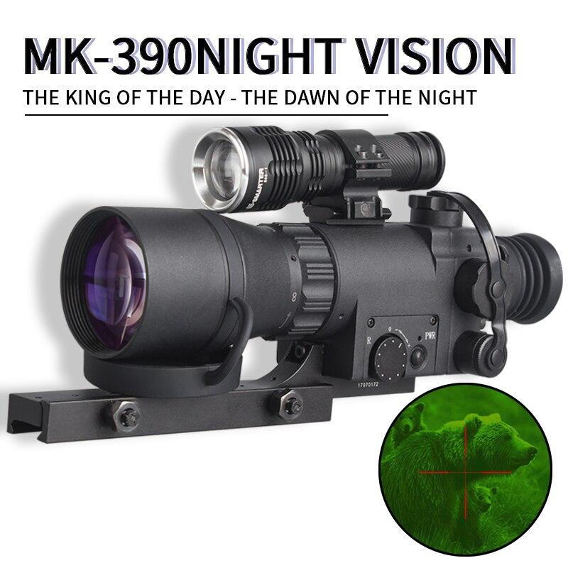 MK-390 FMC Full HD Lens Range Hunting Wildlife Surveillance Scouting Sight Hunting Scopes Night Vision Riflescope Infrared