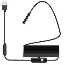 USB эндоскоп 1080P IP67 водонепроницаемый HD бороскоп Гибкая инспекционная змеиная камера 6 светодиодный фонарь для Android телефона ПК смартфона