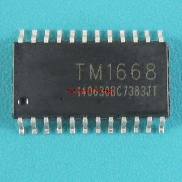 10pcs/lot TM1668 1668 SOP-24 In Stock
