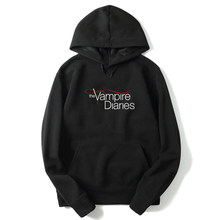 The Vampire Diaries Lovely Long Sleeve Hoodies Autumn Funny Sweatshirt Fashion Casual Hoodies Women Men Clothing Loose Hoodies(China)