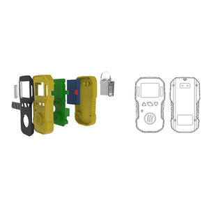 Image 5 - אוזון גלאי אוזון גז Tester O3 אוזון ריכוז שיורי דליפת גלאי Analyzer צג עם קול אור רטט אזעקה