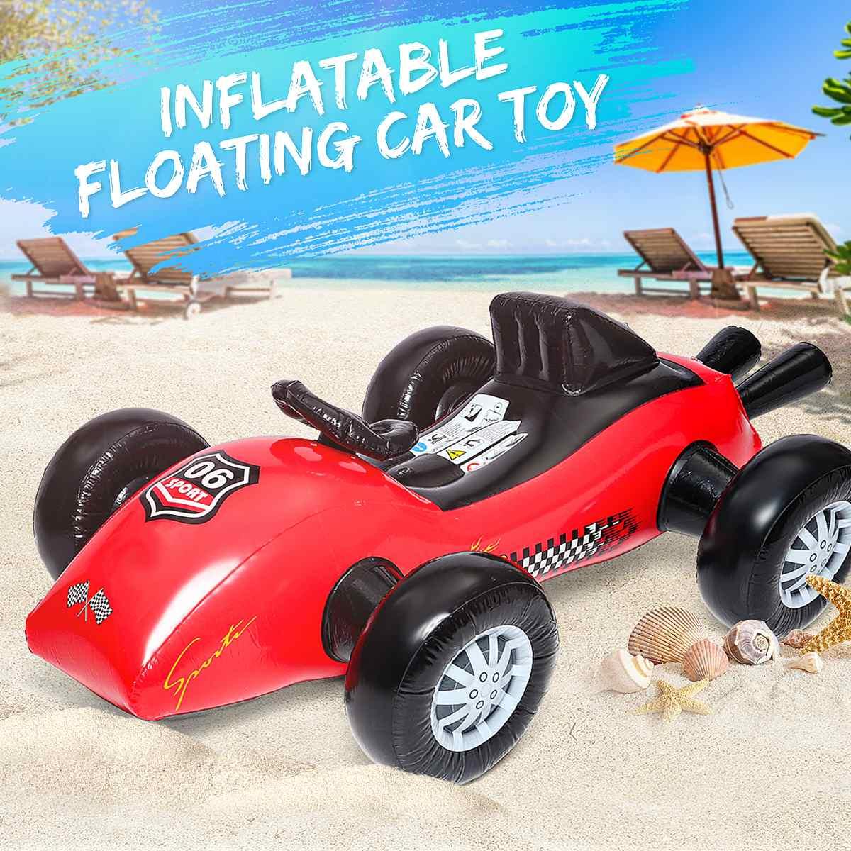 Été gonflable flotteur voiture plage eau jouet enfants siège bateau natation piscine accessoires natation respectueux de l'environnement PVC Durable