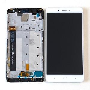 Image 2 - המקורי M & סן עבור Xiaomi Redmi הערה 4 הערה 4 מדיאטק MTK Helio X20 3GB 32GB LCD מסך תצוגה + מגע Digitizer מסגרת 7 חורים