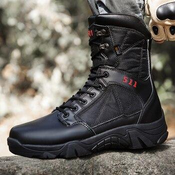 Botas t cticas de senderismo natural para hombre botas militares impermeables zapatillas de deporte de