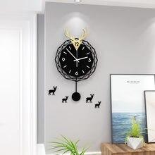 Большие дизайнерские настенные часы декоративные с возможностью