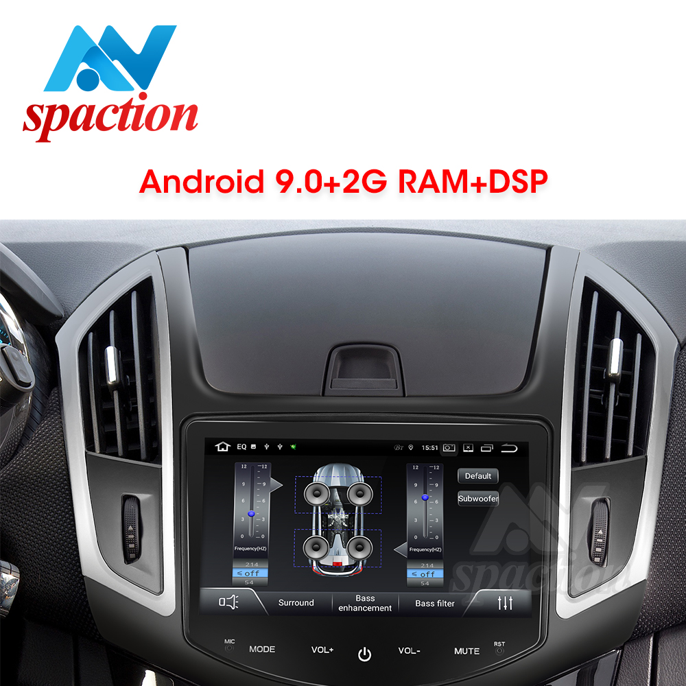 Anspaction Android 9.0 PX30 Car Dvd Gps For Chevrolet Cruze 2013 2014 2015 With Radio Gps Navigation Support Steering Wheel