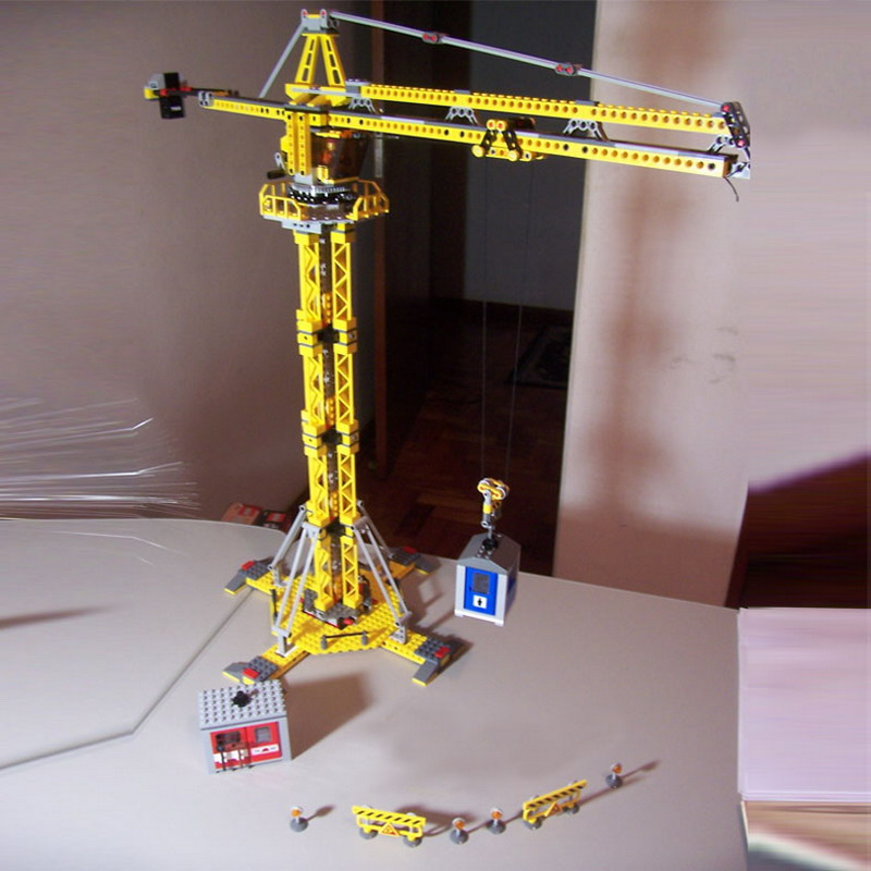 Image 5 - 02069 Creator Series Engineering Project Construction Crane Model Building Blocks 778pcs Bricks Toy Gift For The Children 7905-in Blocks from Toys & Hobbies