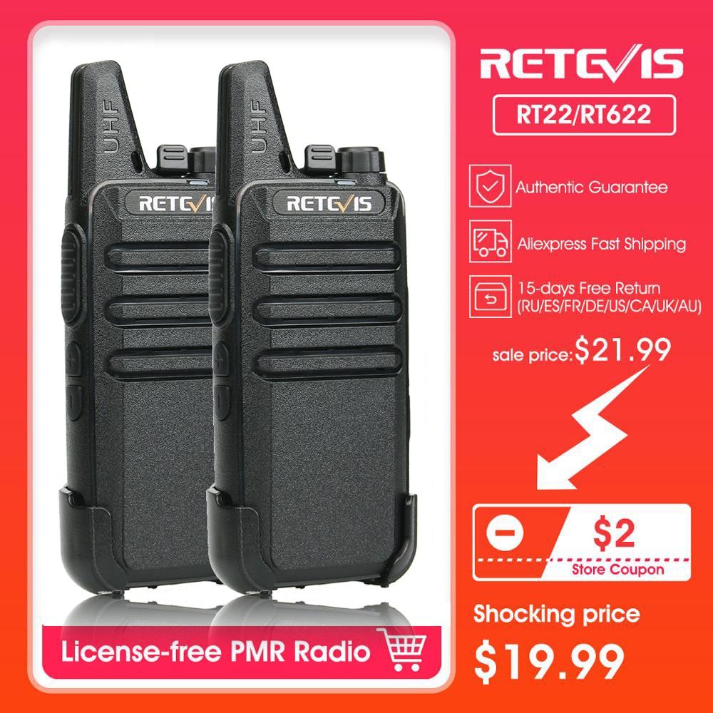 3*Retevis H777 Walkie Talkies UHF 16CH Long Range Rechargeable VOX 2 Way Radio