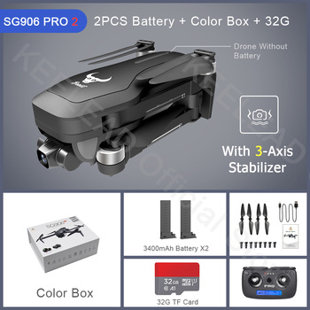 ZLRC Beast SG906 Pro 2 Brushless Motor with 3-Axis Gimbal GPS 5G WIFI FPV Professional 4K Camera RC Drone Quadcopter Dron PRO2 15