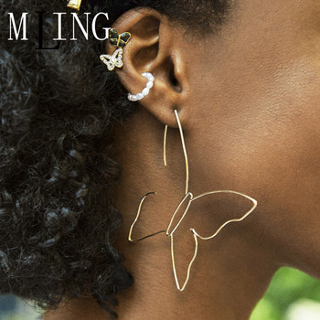 MLING Vintage Gold Silver Alloy Crystal Stud Earrings Fashion Pearl Butterfly Stud Earrings Set for Women.jpg 350x350 - MLING Vintage Gold Silver Alloy Crystal Stud Earrings Fashion Pearl Butterfly Stud Earrings Set for Women