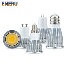 LED Bulb E27 E14 MR16 GU5.3 GU10 COB Spotlight 3W 5W 7W 10W Lampada Led Light 110V 220V Bombillas LED Lamp 85-265V Spot Light(China)