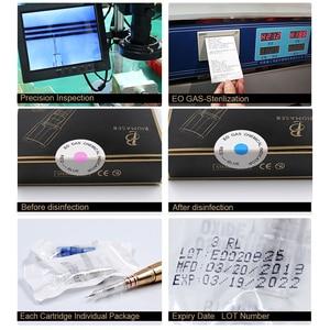 Image 5 - Biomaser 10PCS Permanet Makeup Tattoo Needle 3/5/7RS for Machine Car Disposable Permanent Cartridge Tattoo Needles