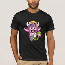 Classic Anime Dr. Slump Arale T Shirt Unisex Popular Cartoon Cotton Tee