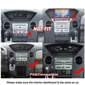 Image 3 - 車のマルチメディアプレーヤーホンダパイロット2009 2014アクセサリーラジオandroid streen画面carplay gpsナビ地図ナビゲーションシステム