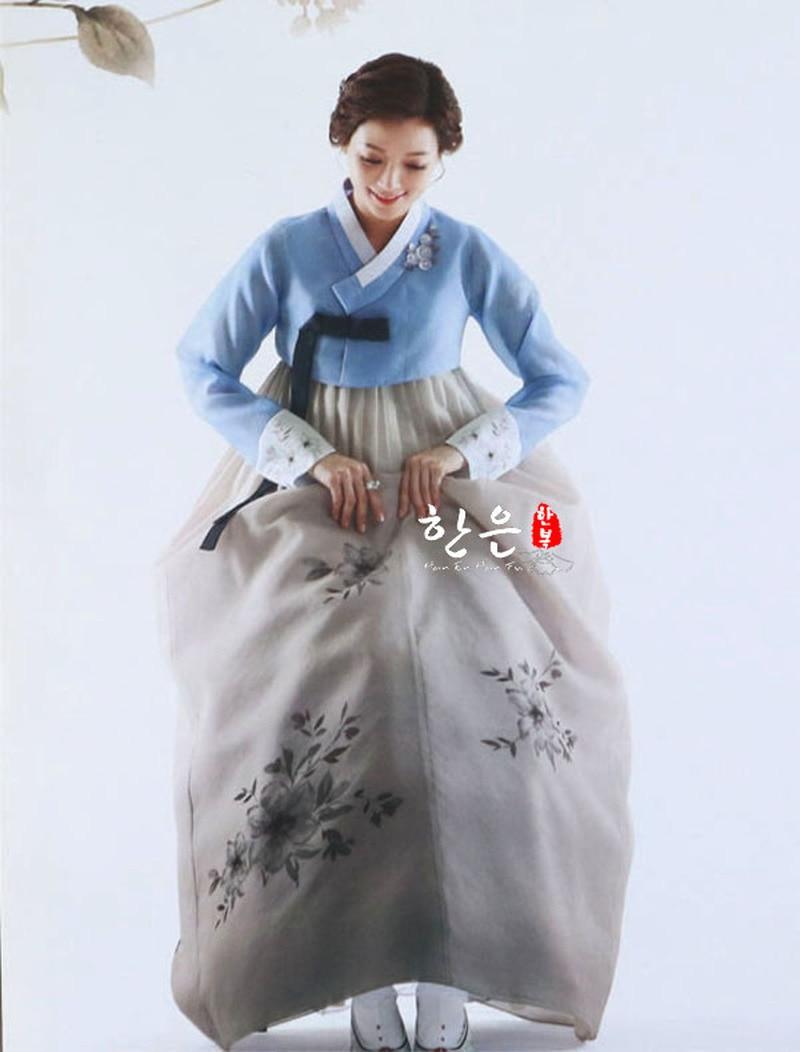 Korea Original Hand Embroidery Hanbok / Wedding Hanbok / Traditional Hanbok / Authentic Spot Hanbok