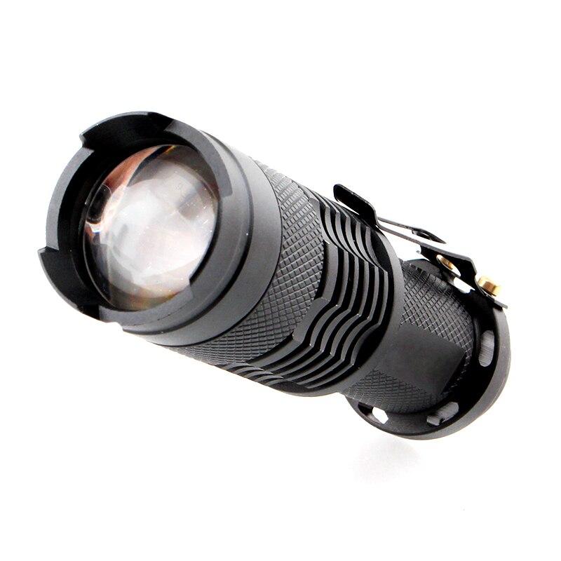 Flash Light 14500 Battery Flashlight Zoom Waterproof 1200LM LED Bulb T6 XPE AA Lighting Powerful Torch Camping Hiking Flashlight