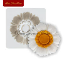 Силиконовая форма в виде цветка маргаритки crytal Подвеска из