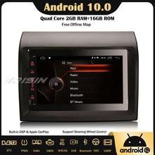 "Erisin 4274 7 ""Android 10,0 Auto Stereo Autoradio DAB + CarPlay Navi Bluetooth DSP 4G Für Fiat Ducato citroen Jumper Peugeot Boxer"
