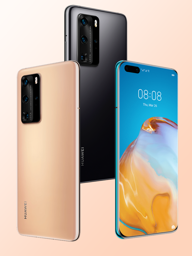 Huawei Hisilicon Kirin 990 P40 Pro 8G 256gb Nfc Supercharge Octa Core In-Screen fingerprint recognition