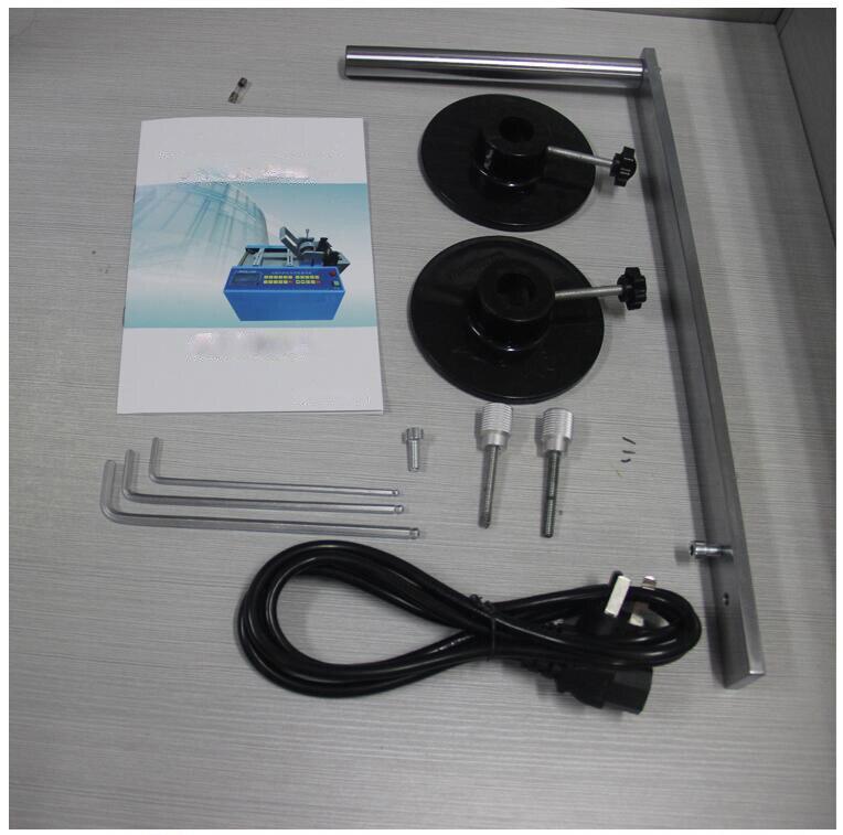 HZX 100 автоматическая термоусадочная трубка резак, Резиновая полоса, силиконовые трубы, ПВХ, ПУ, стекловолоконная трубка проволока веревка ма... - 5