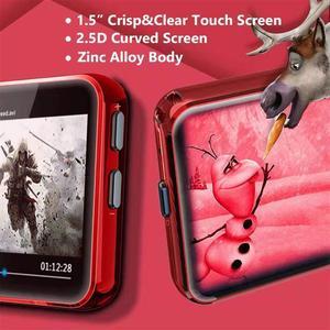 Image 2 - MP3 נגן עם קליפ נייד MP3 נגן עם Bluetooth 4.2 מוסיקה נגן עם FM, מלא מגע מסך מיני MP3 נגן עבור ספורט