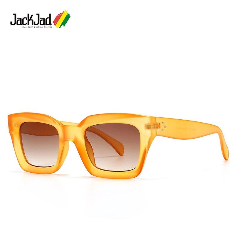 Jackjad 2021 moda 41450 kate estilo matiz doces óculos de sol para mulher/homem design da marca do vintage óculos de sol oculos de sol 1735
