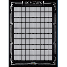 Scratch Off Poster 100 Must-See Movies Top Films of All Time Bucket List?60X42cm?