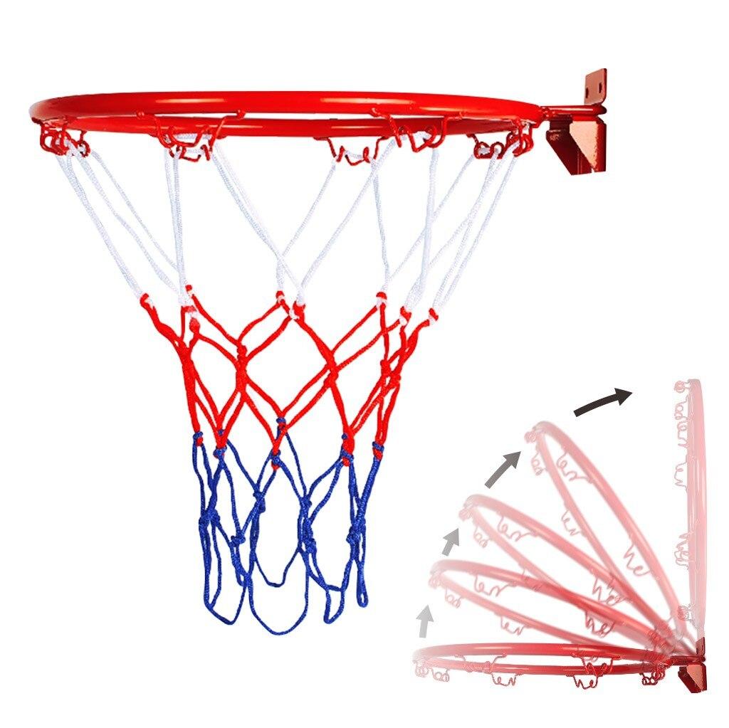 Подвесной баскетбольный настенный кольцевой обруч для улицы в помещении очень прочный подвесной баскетбольный обруч #30