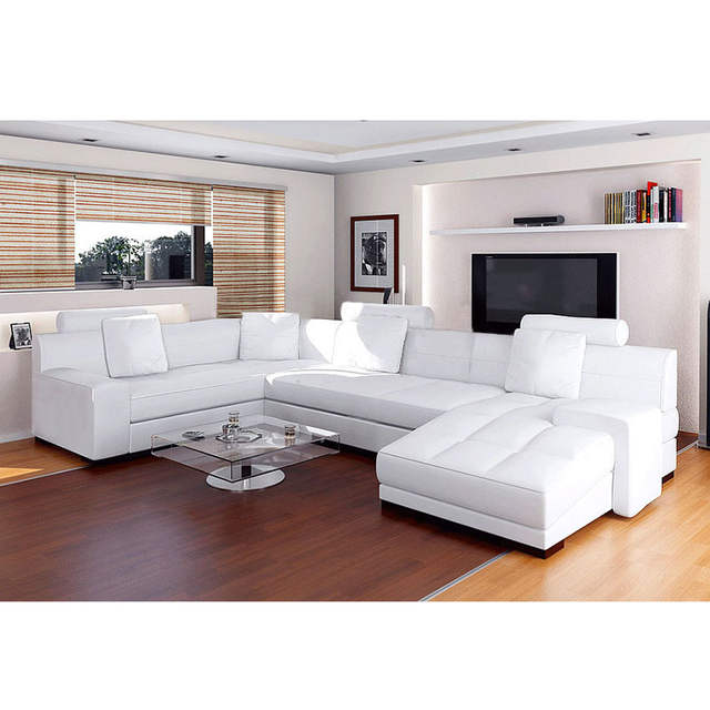 Awesome Us 1499 0 China Made High Quality Modern White Leather Sofa On Aliexpress Ocoug Best Dining Table And Chair Ideas Images Ocougorg