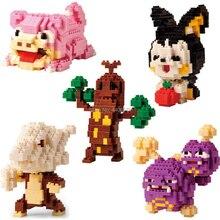 hot LegoINGlys creators Poke Monster Kong Idiot Emolga Marowak Weezing Sudowoodo mini Micro Diamond Block model nano bricks toys майка print bar marowak alola
