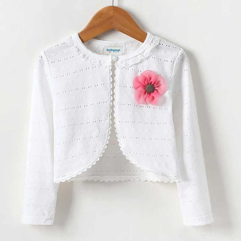 Ropa de abrigo corto para bebé niña primavera otoño niñas niños Rebeca abrigo niños chaquetas de manga larga camisa Niño suéter Cardiga