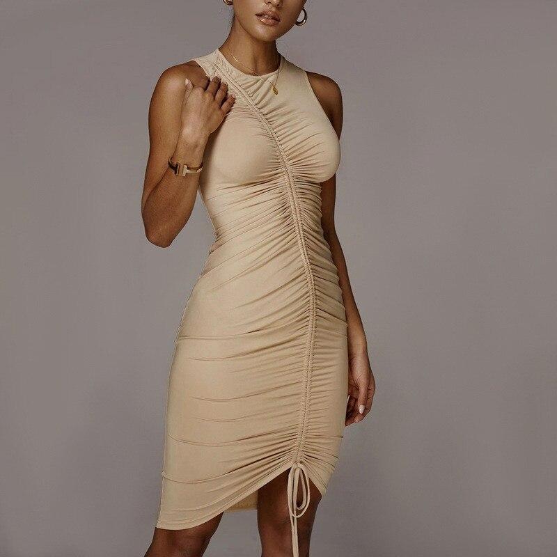 sleeveless mini short dress09