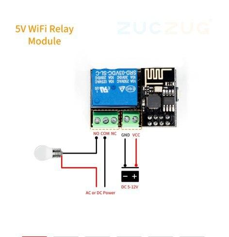 Релейный модуль ESP8266 ESP-01S 5 в Wi-Fi, переключатель дистанционного управления для смартфона APP ESP01S, беспроводной модуль для умного дома IOT 2020